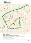 Las obras de la calle Calatrava de Ciudad Real obligarán a varios cortes de tráfico en calles aledañas desde este lunes