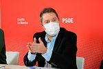 García-Page traslada al PSOE su compromiso de crear planes de empleo y ayudar a sectores más afectados para superar la crisis