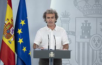 Fernando Simón, director del Centro de Alertas y Emergencias Sanitarias. Foto: Europa Press 2020