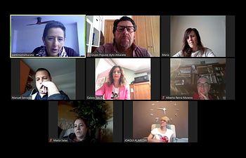 Reunión con la Asociación de Familiares y Enfermos de Párkinson (AFEPA)