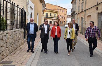Aurelia Sánchez visita el municipio albaceteño de Hoya-Gonzalo