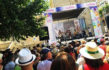 The Niftys en la Batalla de Bandas Blues Battle del Cazorla Blues Festival.