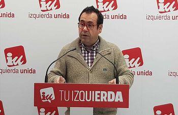 Juan Ramón Crespo, Coordinador Regional de IU C-LM.