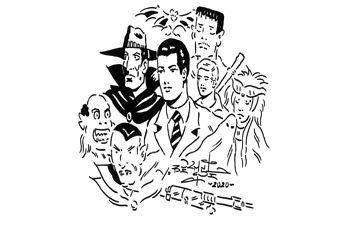 Ilustración de Valeriano Belmonte.