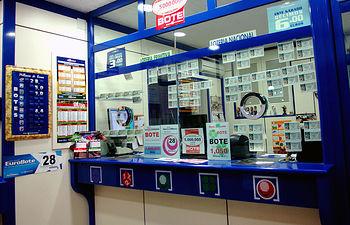 Administración de Lotería. Foto de Archivo.