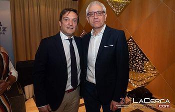 Jesús Cuesta y Manuel Lozano. Foto: Manuel Lozano García / La Cerca