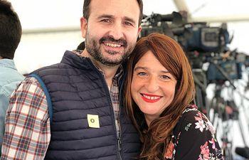 """Amparo de Aguilar y Vicente Núñez obtienen el VI Premio de Periodismo """"Sánchez de la Rosa""""."""