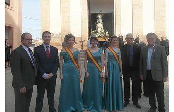 El presidnete de la Diputación asiste a las fiestas de AlL PRESIDENTE DE LA DIPUTACIÓN ASISTE A LAS FIESTAS DE ALBATANA