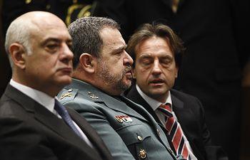 El econonomista Enrique Barón y el general brigada Pablo Salas. Foto: Europa Press 2020