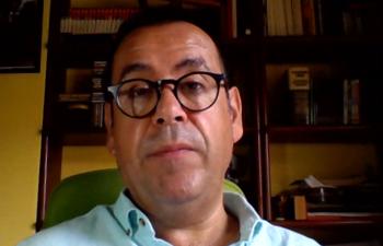 El Coordinador Regional de IU CLM, Juan Ramón Crespo.