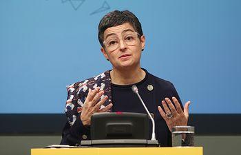 Arancha González Laya, ministra de Asuntos Exteriores, Unión Europea y Cooperación. Foto: Europa Press 2020