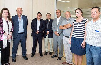 Una delegacion de Ecuador visita el SESCAM. Foto: JCCM.