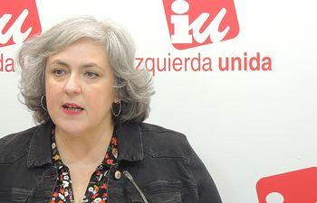 Isabel Álvarez, responsable del Área de la Mujer de Izquierda Unida de Castilla-La Mancha.