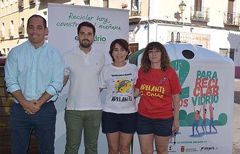 La campaña '12 motivos para reciclar vidrio' llega a Talavera durante el mes de julio