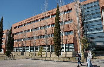 Centro del campus de Albacete que acogerá la final nacional de la IV Olimpiada Española de Economía