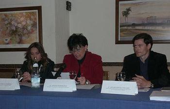 Antonia Ruipérez, en la clausura.