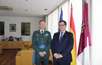 Úbeda recibe la nuevo Jefe de la Comandancia de Toledo, coronel Javier Vélez.