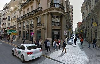 Edificio de la confluencia Marqués de Molins-Concepción en Albacete