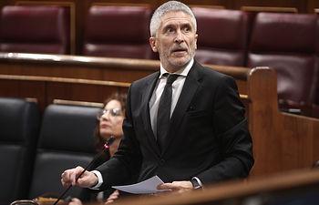 El ministro del Interior, Fernando Grande Marlaska. Firma: Eduardo Parra / Europa Press