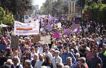 Manifestación 8M. Foto: Europa Press 2020