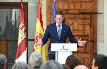 Nicolas de Villiers, el presidente de Puy du Fou. (Fotos: José Ramón Márquez // JCCM)