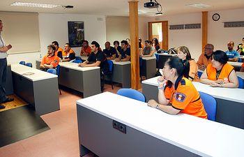 Curso en la Escuela de Proteccion Ciudadana. Foto: JCCM.