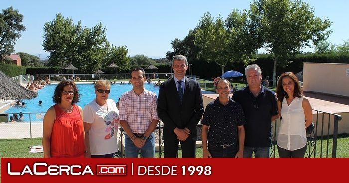 Navalc n mejora la piscina p blica con el apoyo de la for Piscina santa teresa albacete