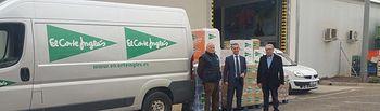 El Corte Inglés entrega más de 2 toneladas de alimentos al Banco de Alimentos de Albacete
