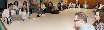 Estudiantes americanos conocen el modelo de sanidad pública en distintos hospitales de la región. Foto: JCCM.