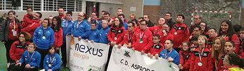 Los Clubes Deportivos de ASPRONA arrasan en el 22 Campeonato Regional de Natación