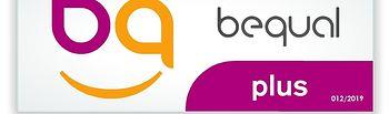 Logo Bequal Plus.