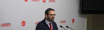 Sergio Gutiérrez, secretario de Organización del PSOE de Castilla-La Mancha y diputado nacional.