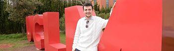 Guillermo Laguna Murcia.  © Gabinete de Comunicación UCLM