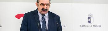 Jesús Fernández Sanz,  consejero de Sanidad. . Foto: Foto:D.Esteban Gonzalez//JCCM