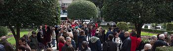 Concentración en Albacete a favor de la prisión permanente revisable