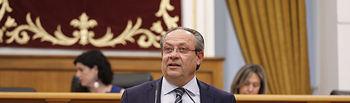 Juan Alfonso Ruiz Molina, consejero de Hacienda y Administraciones Públicas, . Foto: CARMEN TOLDOS