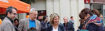 María Dolores Arteaga, cabeza de lista de Ciudadanos al Congreso de los Diputados por la provincia de Albacete.