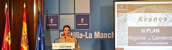 Marta García. III Plan Regional de Carreteras en Guadalajara (1). Foto: JCCM.