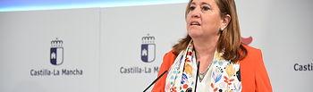Rueda de prensa de la reunión con representantes de la comunidad educativa. (Fotos: José Ramón Márquez // JCCM).