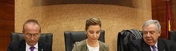 Marta García firma convenios de colaboración con diferentes instituciones. Foto: JCCM.