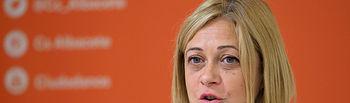 Carmen Picazo, portavoz de Ciudadanos en las Cortes de Castilla-La Mancha. Foto: La Cerca - Manuel Lozano Garcia