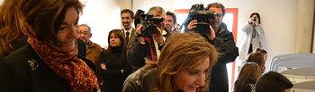 Marta García visita Centro de Internet El Casar (1). Foto: JCCM.
