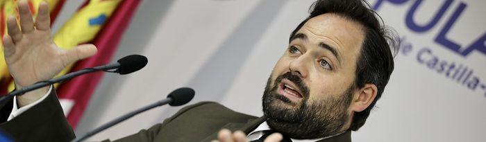 Paco Núñez, presidente del Partido Popular de Castilla-La Mancha.