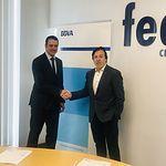 Firma convenio FEDA - BBVA.