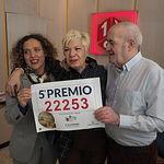 El 22.253, último quinto premio vendido en la administración de Menéndez Pidal 6, Albacete.