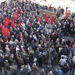 Acto de homenaje a los abogados asesinados en la calle de Atocha en Madrid. Imagen de archivo.