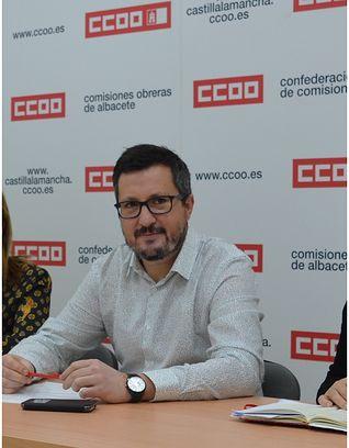 Alberto Jiménez Secretario Federación de Enseñanza de CCOO en Albacete