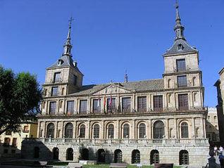 Ayuntamiento de Toledo. Foto de archivo.
