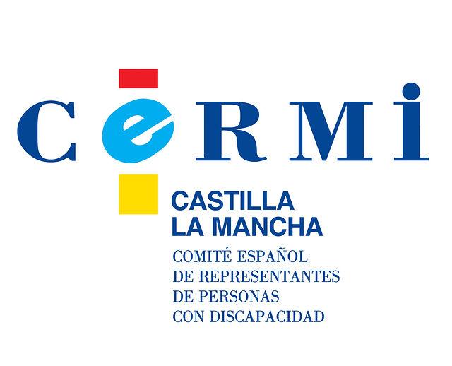 Logotipo-imagen de CERMI CLM.