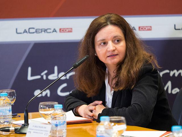 Ángela Trigero Cano, vicedecana de la Facultad de Ciencias Económicas y Empresariales de la UCLM